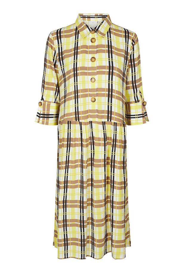 98f20223901e Yellow Cream Kjole – Køb Yellow Cream Kjole fra str. 36-46 her